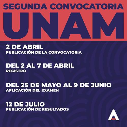 UNAM-CONVOCATORIA